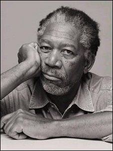 """Morgan Freeman. I personally LOVE this man!! Have any of you seen """"Isle Of Grace"""". It is so lovely, and he as always, is AMAZING!"""