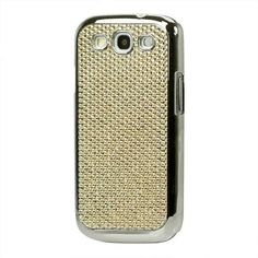 Hard case embellished with chrome diamond rhinestones for sparkling effect Made of hard plastic material with rhinestones for embellishment The combination of hard plastic and rhinestones gives a very durable layer of protective covering for your phone Galaxy S3 Cases, Samsung Galaxy S3, Latest Games, Plastic Material, Rhinestones, Ss, Dream Wedding, Phones, Smartphone
