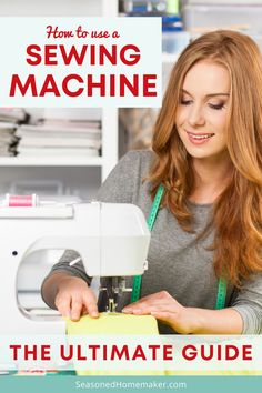 You want to learn how to sew. Before you take your first stitch, you will want to know is how to set up a sewing machine. #howtosew #sewingforbeginners #sewingmachines #quilting #sewingtips Sewing Lessons, Sewing Class, Love Sewing, Easy Sewing Projects, Sewing Tutorials, Sewing Tips, Video Tutorials, Sewing Ideas, Sewing Basics