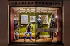 SS16 at Charles Tyrwhitt Jermyn Street #vm #visualmerchandising