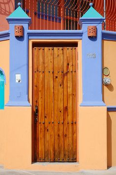 Ajijic Mexico Door by StevenMiller, via Flickr