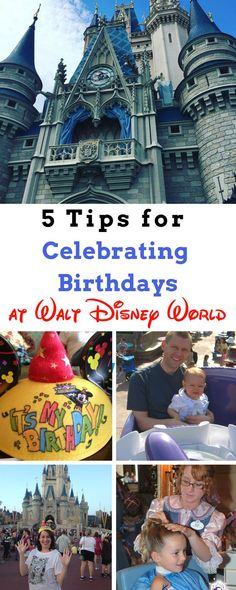 "5 Tips for Celebrating Birthdays at Walt Disney World. From ages 1 to 92, ideas abound on how to make the pixie dust fly for the birthday boy or girl at the House of Mouse. Here are our tried and true favorites that will have them saying ""Oh Boy"" on their birthday at the most magical place on Earth."