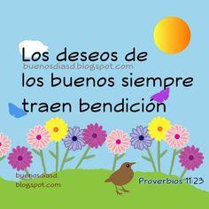 buenos dias bendiciones para todos