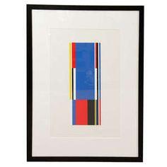 Deloach Modern, MS-G-55, Single blue neimeyer #DesignOnHPMkt #HPMKT #art #walldecor