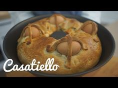 YouTube Easter Monday, Wood Oven, Savoury Cake, Original Recipe, Bagel, Buffet, Bread, Genere, Cooking