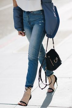 3 Tips for Dressing Up Denim for Spring| The Girl From Panama - Pam Hetlinger