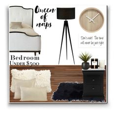 """""""Bedroom under $500"""" by squeeen ❤ liked on Polyvore featuring interior, interiors, interior design, home, home decor, interior decorating, Bernhardt, CB2, Nest Fragrances and Ethan Allen"""