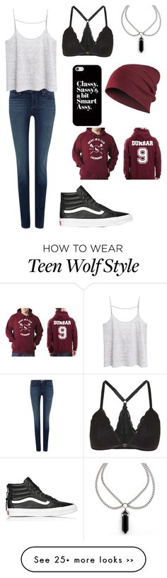 """#93"" by thekanzyvaldez on Polyvore featuring мода, Paige Denim, MANGO, Vans, Casetify и Topshop"