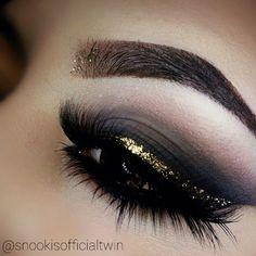 JESSICA WONG  @snookisofficialtwin | Websta (Webstagram) #browgame #glittereyes #smokeyeyes