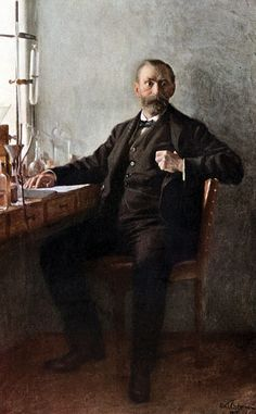 Alfred Nobel (1833-1896), Swedish.  Inventor of dynamite and founder of the Nobel Prize.