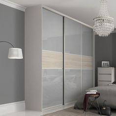 Premium Midi: Fineline Light Grey / Cape Elm doors