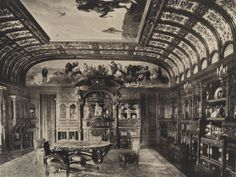 Dining room, William H. Vanderbilt house, at 51st and Fifth Avenue.