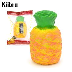 Material : Squishy PU foam. Features :squishy, soft , slow rising. Size: 14cm 9cm(H D). Pattern: jumbo pineapple. Color: orange color as the picture. ●100% Money Back for non-functioning item! | eBay!