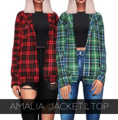 Female Fitness 320811173458525279 - { grafity } — Amalia Jacket&Top swatches … Source by Sims 4 Cc Eyes, Sims Cc, Sims 4 Mods Clothes, Sims 4 Clothing, Vêtement Harris Tweed, Sims 4 Black Hair, The Sims 4 Cabelos, Pelo Sims, Sims 4 Game Mods