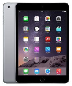 iPad mini 3 Wi-Fi + Cellular 128GB - Cinza Espacial - Apple Store (Brasil)