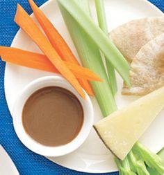 Roasted Garlic–Balsamic Vinaigrette: Recipes: Self.com