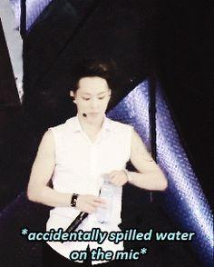 Haha Xiumin you're way too funny!