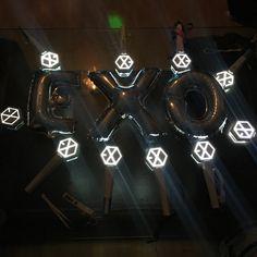 Lightstick Exo, Baekhyun, Kpop Aesthetic, Planets, Darth Vader, Fan Girl, Youth, Wallpapers, Life