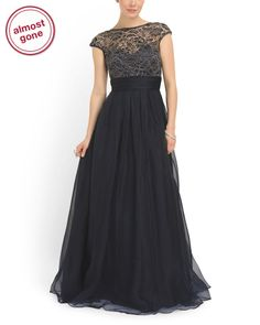 image of Organza And Lace Ball Gown  Beautiful!