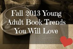 2013 young adult book trends