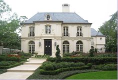 Ok, this is it. THIS is my dream exterior for a french style home
