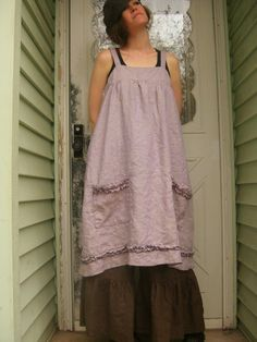 Short Pinafore by sarahclemensclothing on Etsy, $145.00