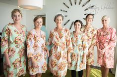 Robes by silkandmore - Mismatched Pastel Shabby Chic Floral Posy Robes, $25 (http://robesbysilkandmore.com/mismatched-pastel-shabby-chic-floral-posy-robes/)