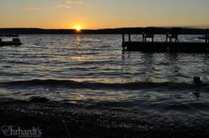 July sunset on #LakeWallenpaupack at #Ehrhardts!