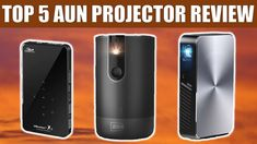 Top 5 Best AUN 3D Projector Reviews | WiFi Portable Mini Projector (Supp... Projector Reviews, Best Projector, Top 5, Wifi, Amazing, Products, Gadget