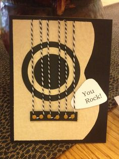 Masculine card! Great for a young teen.