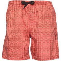 Buy Rhythm Mens Station Street Walk Shorts Salmon for £3.55