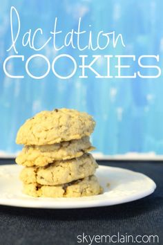 Bring on the Milk – Lactation Cookies Recipe
