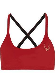 Lucas Hugh Core Performance stretch sports bra | NET-A-PORTER $145
