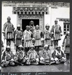 Bhutan 80 Years Ago: Historical Photos http://www.greentea.tk/2013/06/bhutan-80-years-ago-historical-photos.html