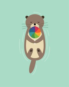 Sweet Otter - You otter be sweet everyday : )