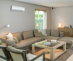 Heat pump in the livingroom and save money. @Solvarme luft @Solvarme vand @Spar på Varmen @Spar varme @Ny Varmepumpe