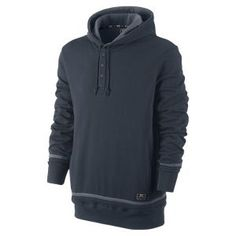 Nike Henley Men s Pullover Hoodie b56f62709