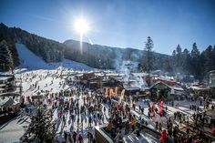 The Bulgarian resort Borovets celebrated their 120th anniversary with a HUGE resort opening party this weekend.