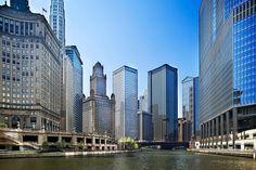 Chicago River from North Michigan Avenue | Chicago, IL