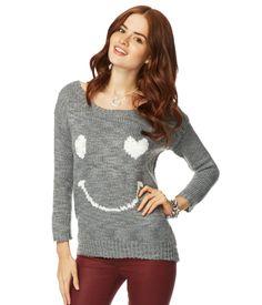 Smiley Sweater - Aeropostale
