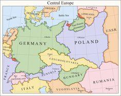 Central Europe 1921 by Fenn-O-maniC