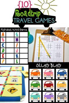 Roadtrip Travel Games