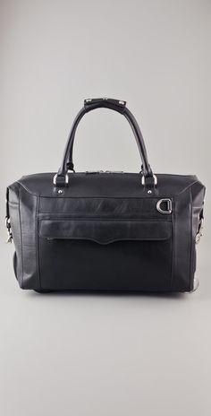 edb3123d1323 Rebecca Minkoff Wheelie Travel Bag. Cute Pins