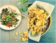 Cooking With Love: Rempeyek Kacang, Pecel Dan Tumis Daun Pepaya - Cooking With Mom
