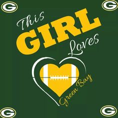 This Girl Loves the Packers Packers Gear, Packers Baby, Go Packers, Packers Football, Best Football Team, Football Memes, Greenbay Packers, Football Crafts, Bulldogs Football