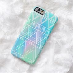 Awesome iPhone 6 Case! Turquoise Multi Tribal iPhone 6 Case. It's a completely customizable gift for you or your friends.