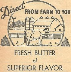 Antique Butter Box Image - FREE Printable from Knick of Time
