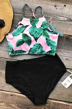 American flag bikini, crochet see through bikini, flounce busty bikini, sexy high neck tankini, and maternity tankini bathing suits all in NewChic. Summer Bathing Suits, Girls Bathing Suits, Summer Suits, Summer Wear, Summer Time, Summer Outfit, Bikini Set, Vs Bikini, Black Bikini