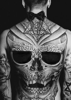 He Carried Her Ghost In The Ink On His Skin To Ward Against Demons Who Tried To Get In