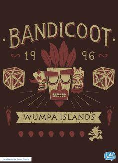 Bandicoot | Design by Paula García